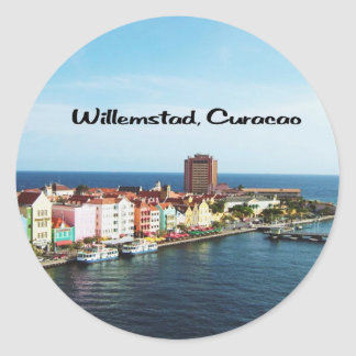 Willemstad Curaçau Adesivo