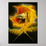 William Blake antigo do poster dos dias