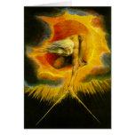 William Blake antigo dos dias Cartão Comemorativo