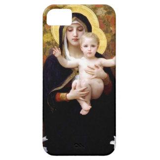 William Bouguereau- Madonna dos lírios Capas Para iPhone 5