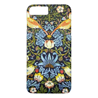 William Morris: Design do vintage do ladrão da Capa iPhone 8 Plus/7 Plus