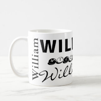WILLIAM - personalize a caneca