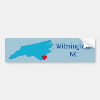 Wilmington, NC Adesivo Para Carro