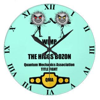WIMP engraçado dos mecânicos de quantum contra o Relógio Grande
