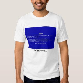 Windows… Camiseta
