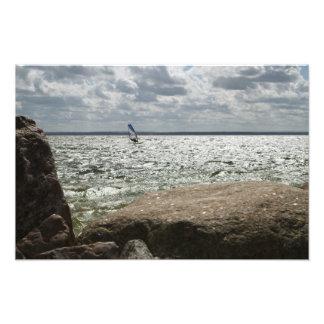 Windsurfing - impressão da foto