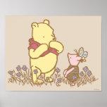 Winnie the Pooh e leitão clássicos 3 Posters