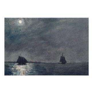 Winslow Homer - luz oriental do ponto Impressão De Foto