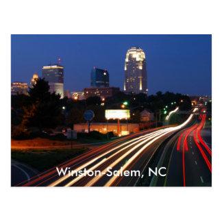 Winston-Salem, cartão do NC