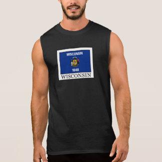 Wisconsin Camisetas Sem Manga