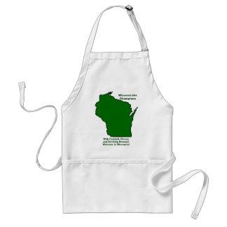 Wisconsinite patrocina o futebol, o queijo e a avental