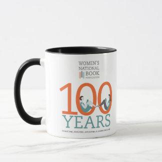 WNBA 100 anos de caneca