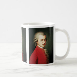 Wolfgang Amadeus Mozart Caneca