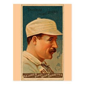 Wolverines de Detroit, 1888, cartão de basebol do