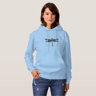 '_Woman's_Hooded_Sweatshirt da libélula II Moletom
