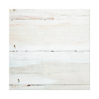 Woodgrain branco de madeira Whitewashed do celeiro Impressão De Canvas Envolvidas