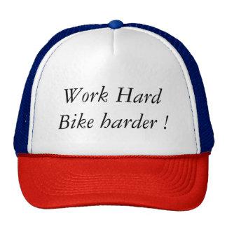 Work Hard Bike Harder! Boné
