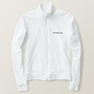 Workfolio bordou a jaqueta do basculador