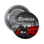 World Cities - London Bóton Redondo 5.08cm