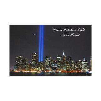 World Trade Center NYC - Lona envolvida Impressão Em Tela Canvas