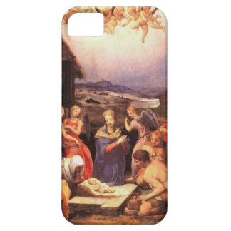 Worship_of_the_shepherds_by_bronzino Capa Barely There Para iPhone 5