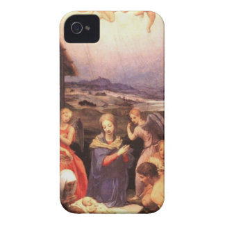 Worship_of_the_shepherds_by_bronzino Capa Para iPhone