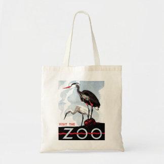 """WPA - """"visite saco do jardim zoológico"""" Bolsa"""