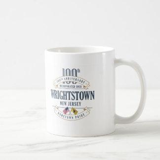 Wrightstown, caneca do aniversário de New-jersey