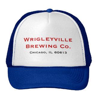 Wrigleyville que fabrica cerveja o Co. Boné
