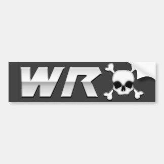WRX com Scull Adesivo Para Carro