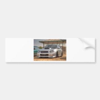 WTI de Subaru Impreza - Jogo do corpo (prata) Adesivo Para Carro