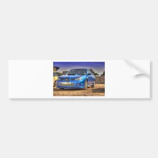 "WTI ""Hawkeye"" de Subaru Impreza no azul Adesivo Para Carro"