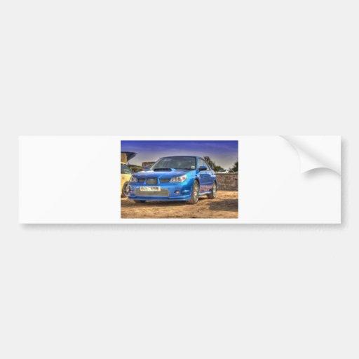 "WTI ""Hawkeye"" de Subaru Impreza no azul Adesivo"