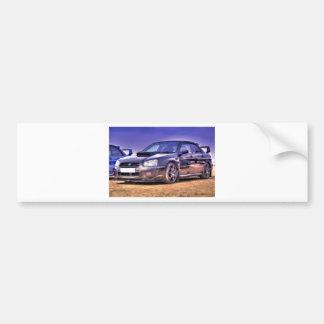 WTI preta de Subaru Impreza WRX Adesivos