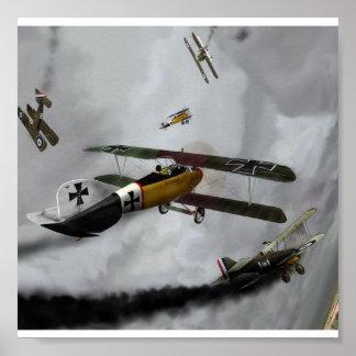 WW1 Furball Pôster