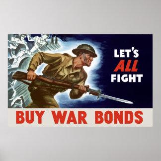 WW2 -- Compre ligações de guerra Poster