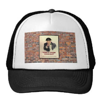 WW2 mantêm-no sob seu poster do chapéu Boné