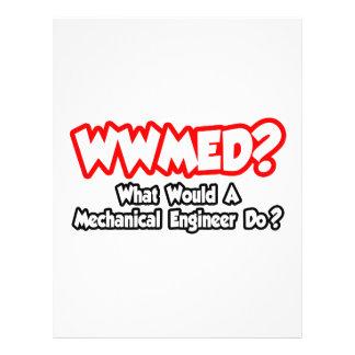 WWMED… o que um engenheiro mecânico faria? Panfletos Coloridos