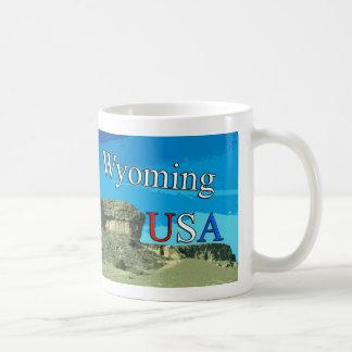 Wyoming EUA caneca de viagem de 11 onças