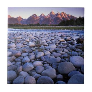 Wyoming, parque nacional de Teton, rio Snake