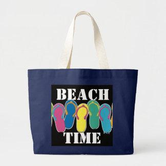 X-grande sacola do flip-flop bolsa para compra