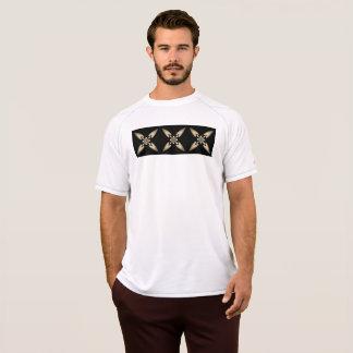 X marcas a camisa seca da malha do dobro do ponto