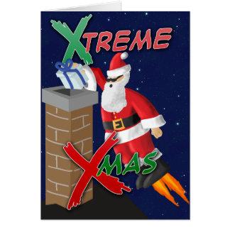 X-Mas de X-Treme Cartão Comemorativo