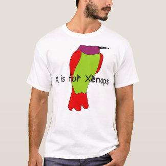 X são para o t-shirt de Xenops Camiseta