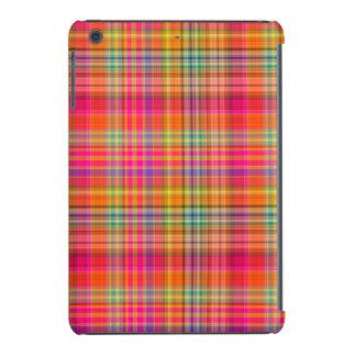 Xadrez de PixDezines malibu/rosa fluorescente Capa Para iPad Mini Retina