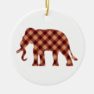 Xadrez do elefante ornamento de cerâmica