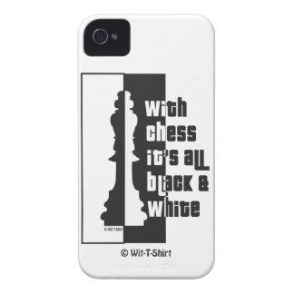 Xadrez é todo o &White preto, capas de iphone da