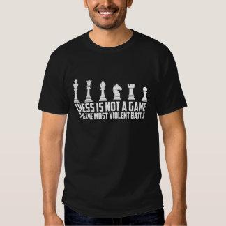 Xadrez não é um jogo que é uma batalha t-shirt