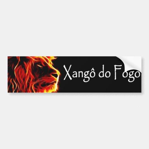 Artesanato Pernambuco ~ Xang u00f4 do Fogo Adesivo Zazzle