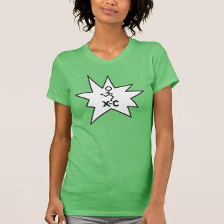 XC corredor do país transversal T-shirt